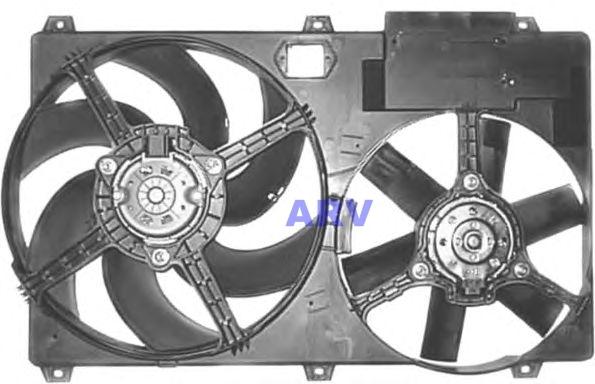 ELECTROVENTILADOR FIAT DUCATO 2.8 C/AIRE ACONDICIONADO 1