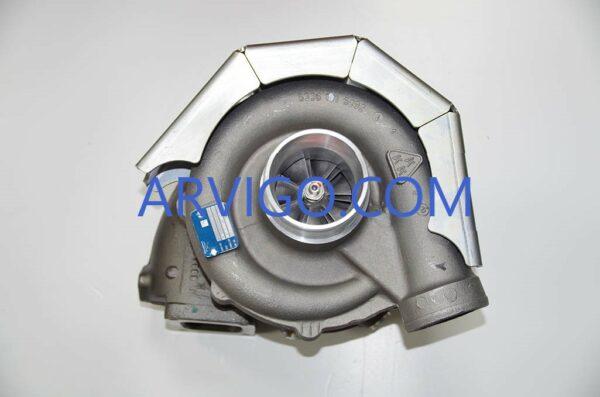 turbo man motor d2866le400